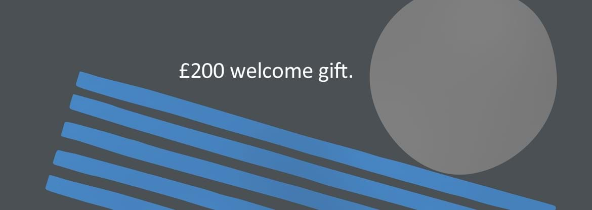 Bedell Cristin £200 Welcome Gift Banner